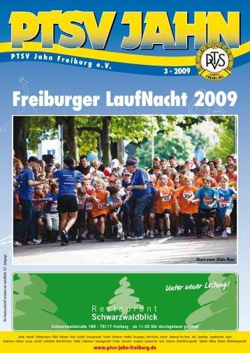 Freiburger LaufNacht 2009 - PTSV Jahn Freiburg