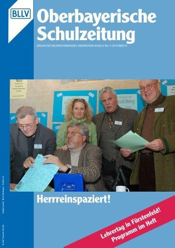 Aus den Kreisverbänden - Bayerischer Lehrer