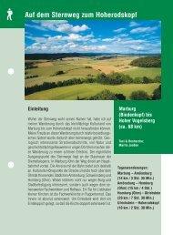 Auf dem Sternweg zum Hoherodskopf - Region Vogelsberg Touristik