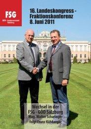FSG Broschüre Landeskongress 2011