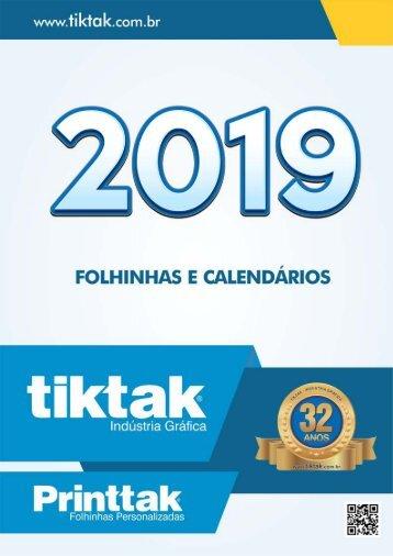 Catálogo 2019   TIKTAK - Indústria Gráfica