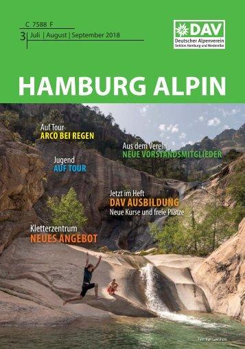 Vorschau auf die Hamburg Alpin Sommerausgabe