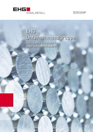 EHG Unternehmensbroschüre