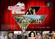 1. Juli bis 4. September 2011 - Kulturverein Semmering