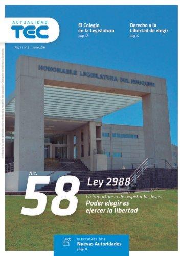 Revista Actualidad TEC  |  Junio 2018