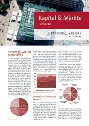 Kapital & Märkte: Ausgabe Juni 2018