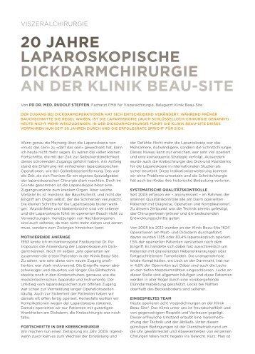 Laparoskopische-Dickdarmchirurgie