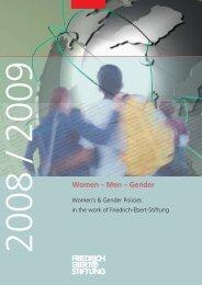 Women - men - gender. - Bibliothek der Friedrich-Ebert-Stiftung