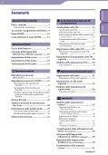 Sony NWZ-B143 - NWZ-B143 Consignes d'utilisation Italien - Page 3