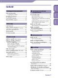 Sony NWZ-B143 - NWZ-B143 Consignes d'utilisation Norvégien - Page 3