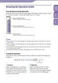 Sony NWZ-B143 - NWZ-B143 Mode d'emploi Anglais - Page 2