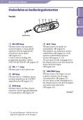 Sony NWZ-B143 - NWZ-B143 Consignes d'utilisation Néerlandais - Page 5