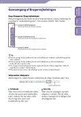 Sony NWZ-B143 - NWZ-B143 Consignes d'utilisation Danois - Page 2