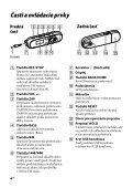 Sony NWZ-B143 - NWZ-B143 Mode d'emploi Slovaque - Page 4