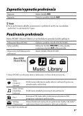 Sony NWZ-B143 - NWZ-B143 Mode d'emploi Slovaque - Page 5
