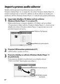 Sony NWZ-B143 - NWZ-B143 Mode d'emploi Slovaque - Page 6