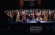 2007–08 and 2008-09 Annual Reports - Metropolitan Opera