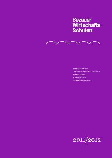 2011/2012 - Bezauer Wirtschaftsschulen