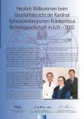 Geschäftsbericht 2002 - Kardinal Schwarzenberg'sches ... - Seite 3