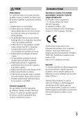 Sony DSC-RX1RM2 - DSC-RX1RM2 Mode d'emploi Slovénien - Page 3