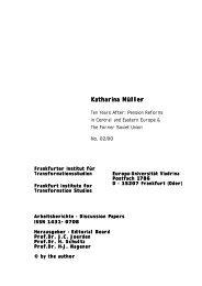 Katharina Katharina Müller - Europa-Universität Viadrina Frankfurt