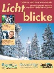 Dezember 2008/Januar 2009 - Gemeinde Baiersbronn