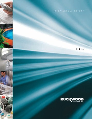 Rockwood Holdings, Inc