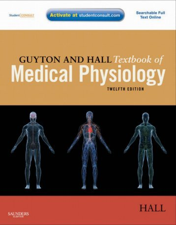 Guyton and Hall Textbook of Medical Physiology 12th Edition (www.medstudents