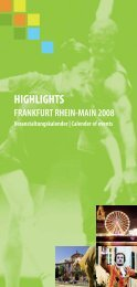 highlights frankfurt rhein-main 2008