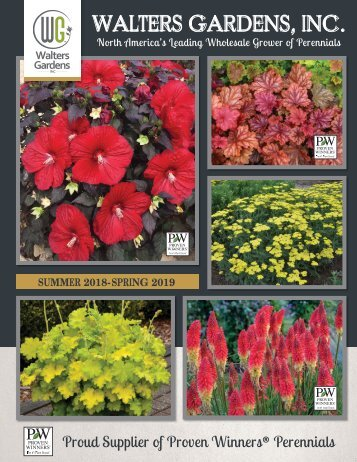 18-19 Walters Gardens Wholesale Catalog