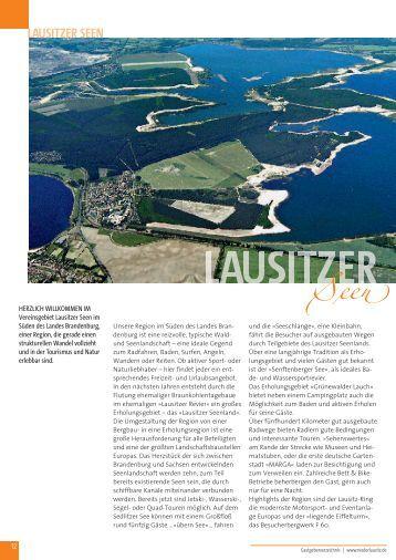 LAUSITZER SEEN - Urlaubsplaner-Niederlausitz