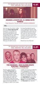Programm Schlachthof Wiesbaden - Juli / August 2018 - Page 7