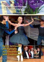 Karina Sarkissova mit Highlights aus Schwanensee beim ...