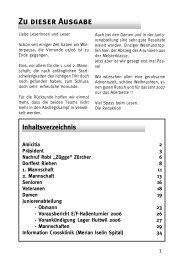 Silvesterball - FC Amicitia Riehen
