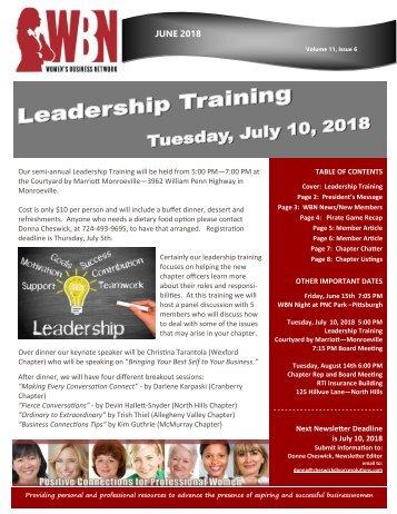 WBN Network News - June 2018