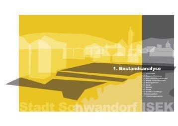1. Bestandsanalyse - Stadt Schwandorf