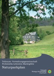 Lehesten - Naturpark Thüringer Schiefergebirge - Obere Saale