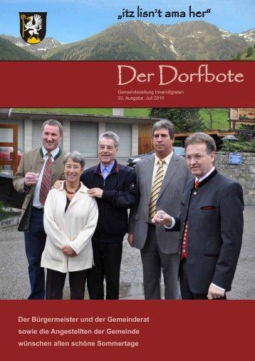 Der Dorfbote - Gemeinde Innervillgraten