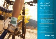 Members' Newsletter 2012 - Barclays Pensions
