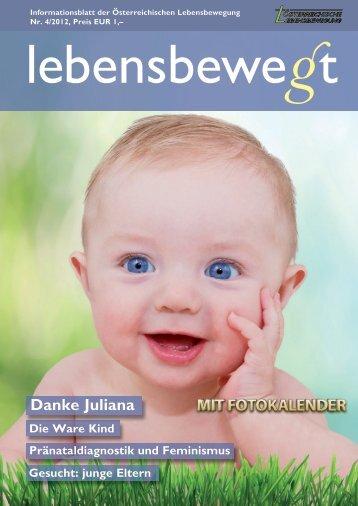 Danke Juliana - Österreichische Lebensbewegung