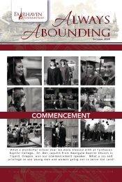 Always Abounding - Spring 2018 - Volume 2