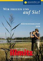 Illmitz Prospekt 2009 - Auszug - Groops