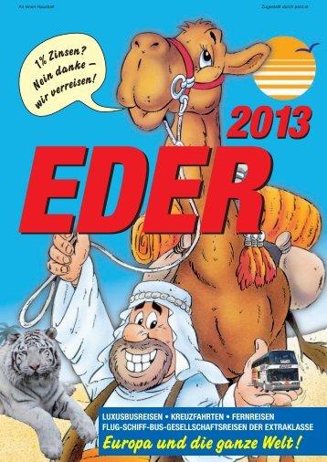EDER auch Ihr Nordland- Spezialist! - Kameltheater