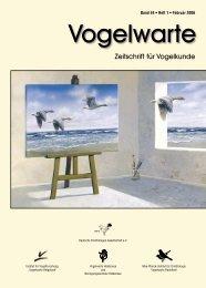 Vogelwarte Band 44 - 2006 - DO-G