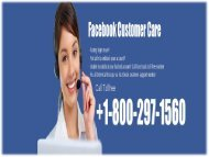1-800-297-1560 Facebook Contact Number