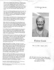 Memorial bulletins (1)