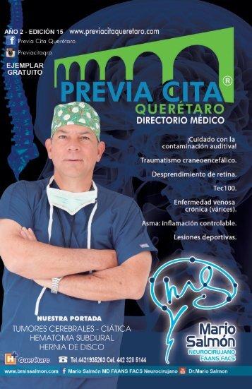 directorio médico previa cita  queretaro edición  15