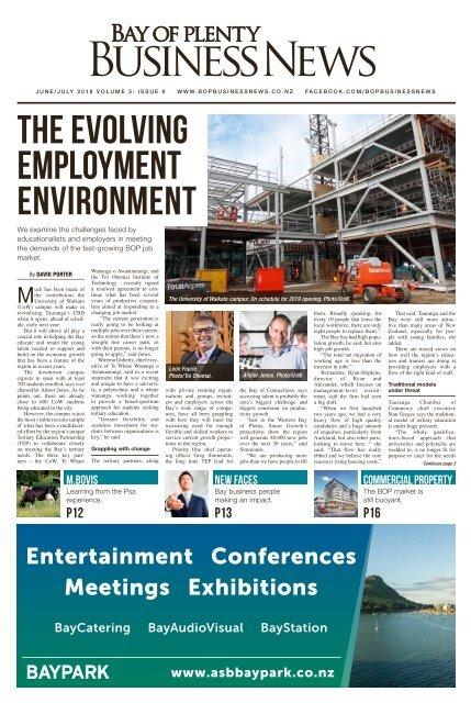 Bay of Plenty Business News June/July 2018