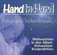 Gemeinsam leben im Kinderdorf - Albert-Schweitzer-Verband eV
