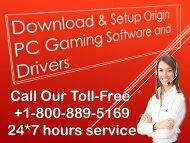 Download & Setup Origin PC Gaming Software and Drivers  +1-8003-116-893 (Toll Free).